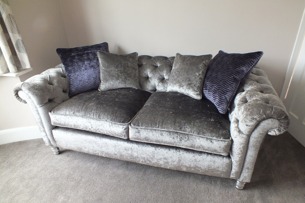 The Chesterfield Sofa Is A Timeless Design, It Looks Good In Either Leather  Or Fabric. A Sofa That Will Stand The Test Of Time And Will Never Go Out Of  ... Photo