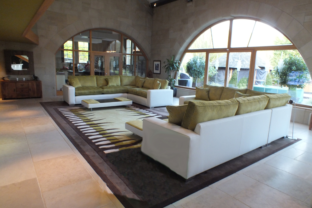 Contemporary Sofa With Lots Of